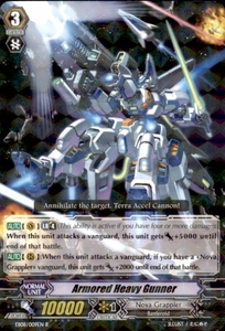 Cardfight Vanguard Champions of the Cosmos Single Card Rare EB08/009 Armored Heavy Gunner