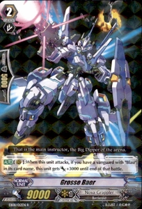 Cardfight Vanguard Champions of the Cosmos Single Card Rare EB08/012 Grosse Baer