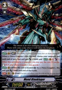 Cardfight Vanguard Champions of the Cosmos Single Card RRR Rare EB08/003 Mond Blaukluger
