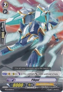 Cardfight Vanguard ENGLISH Binding Force of the Black Rings Single Card Common BT12/053 Peekgal