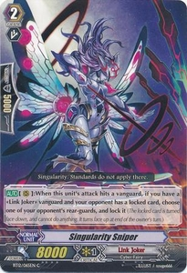 Cardfight Vanguard ENGLISH Binding Force of the Black Rings Single Card Common BT12/065 One Who Shoots Gravitational Singularities