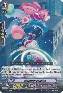 Cardfight Vanguard ENGLISH Binding Force of the Black Rings Single Card Common BT12/082 Werhase Bandit