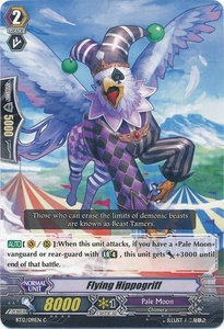 Cardfight Vanguard ENGLISH Binding Force of the Black Rings Single Card Common BT12/091 Flying Hippogriff