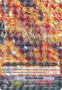 Cardfight Vanguard ENGLISH Binding Force of the Black Rings Single Card Rare BT12/027 Rising Phoenix