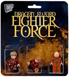 Citizen Brick Mini Figure 3-Pack Dragon Sword Fighter Force Set 2