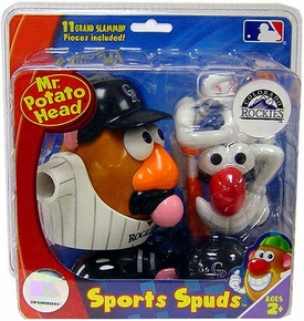 Colorado Rockies Mr. Potato Head MLB Sports Spud