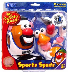 Dallas Mavericks Mr. Potato Head NBA Sports Spuds