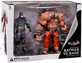 DC Collectibles Arkham Asylum Action Figure 2-Pack Batman Vs. Bane New!
