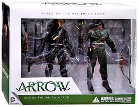 DC Collectibles Arrow Action Figure Set Oliver Queen & Deathstroke
