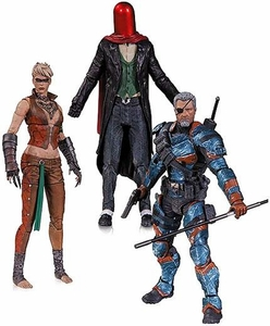 DC Collectibles Batman Arkham Origins Action Figure 3-Pack [Deathstroke, Red Hood & Copperhead] Pre-Order ships August