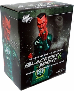DC Collectibles Blackest Night 6 Inch Bust Sinestro as Green Lantern