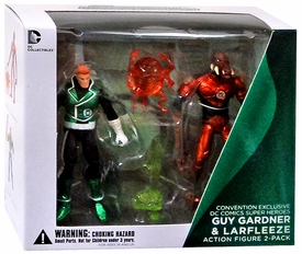 DC Collectibles DC Comics Super Heores Action Figure 2-Pack Guy Gardner & Larfleeze New!