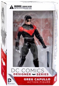 DC Collectibles DC Designer Series 1 Action Figure Nightwing [Greg Capullo] New!