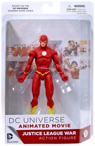 DC Collectibles Justice League War Action Figure The Flash New!