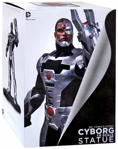 DC Collectibles New 52 Icon 1/6 Scale Statue Cyborg New!