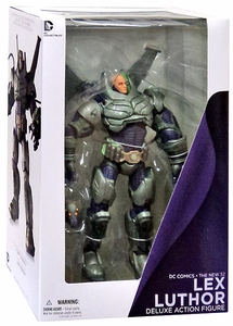 DC Collectibles New 52 Super Villains Action Figure Armored Suit Lex Luthor New!
