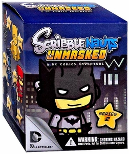 DC Collectibles Scribblenauts Unmasked Series 2 Mystery Pack [1 Random Minifigure]