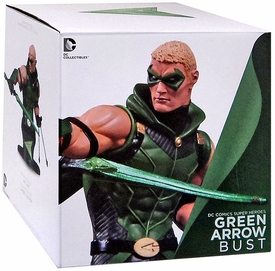 DC Collectibles Super Heroes 6 Inch Bust Green Arrow New!