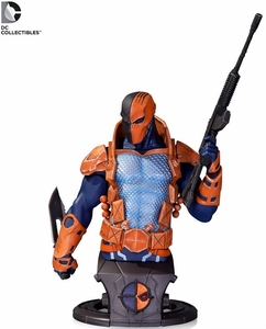 DC Collectibles Super Villains Bust Deathstroke Pre-Order ships January
