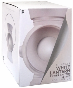 DC Collectibles White Lantern 1:1 Power Battery & Ring New!