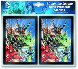 DC Comics Card Sleeves 80-Count Pack JLA Pre-Order ships August