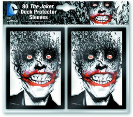 DC Comics Card Sleeves 80-Count Pack Joker Pre-Order ships August