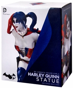 DC Comics Cover Girls Statue Harley Quinn [2nd Edition] New!