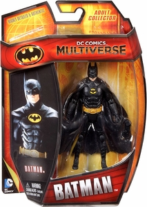 DC Comics Multiverse 4 Inch Action Figure Batman [1989 Movie] New!