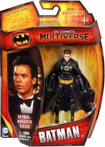 DC Comics Multiverse 4 Inch Action Figure Batman Unmasked [1989 Movie] New!