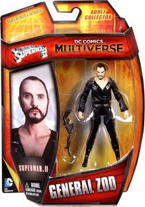 DC Comics Multiverse 4 Inch Action Figure General Zod [Superman II] New!