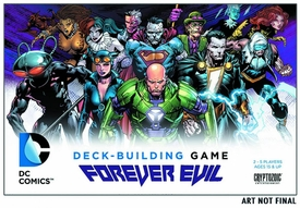 DC Deck Building Game Forever Evil Pre-Order ships September