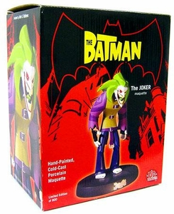 DC Direct Batman Animated Series Limited Edition Porcelain Maquette Joker [1 of 800]