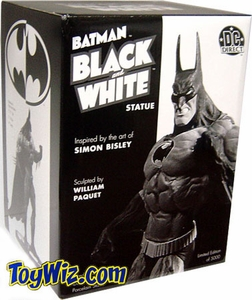 DC Direct Batman Black & White Mini Statue Inspired by Simon Bisley Pre-Order ships November