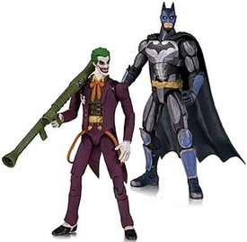 DC Injustice: Gods Among Us 3.75 Inch Action Figure 2-Pack Batman & Joker Pre-Order ships July