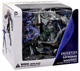DC Injustice: Gods Among Us 3.75 Inch Action Figure 2-Pack  Doomsday & Catwoman