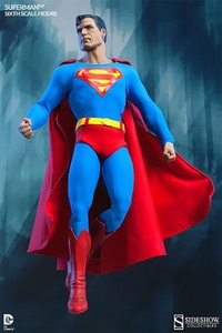 DC Sideshow Collectibles 1/6 Scale Figure Superman Pre-Order ships January