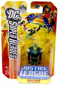 DC Super Heroes Justice League Unlimited Mini Metal Figure Green Arrow [Orange Card]
