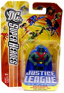 DC Super Heroes Justice League Unlimited Mini Metal Figure Martian Manhunter [Orange Card]