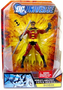 DC Universe Classics Action FigureRobin [Does NOT Include Connect & Collect Builder Piece!]