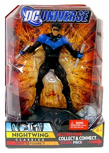 DC Universe Classics Series 3 Action Figure Nightwing [Build Solomon Grundy Piece!]