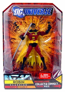 DC Universe Classics Series 3 Action Figure Robin [Build Solomon Grundy Piece!]