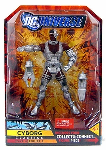DC Universe Classics Series 4 Action Figure Cyborg [Build Despero Piece!]