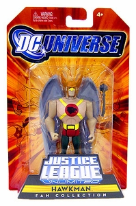 DC Universe Justice League Unlimited Fan Collection Action Figure Hawkman