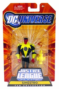 DC Universe Justice League Unlimited Fan Collection Action Figure Sinestro