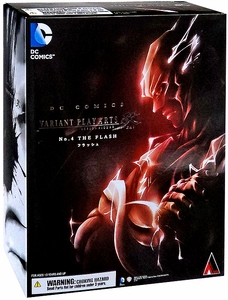DC Universe Variant Play Arts Kai Action Figure Flash New!