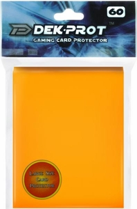 Dek Prot Card Supplies Standard Card Sleeves Mango Yellow [60 Count]