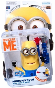 Despicable Me Minion Made DELUXE 5 Inch Action Figure Minion Kevin [Jelly Blaster]