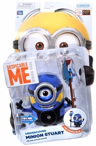 Despicable Me Minion Made DELUXE 5 Inch Action Figure Undercover Minion Stuart