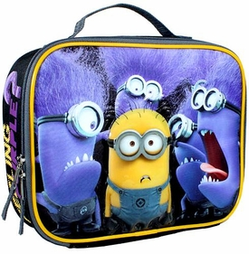 Despicable Me Minion Made Insulated Lunch Bag Feeling Purple?