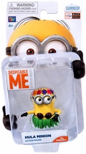 Despicable Me Minion Made Poseable 2 Inch Action Figure Hula Minion